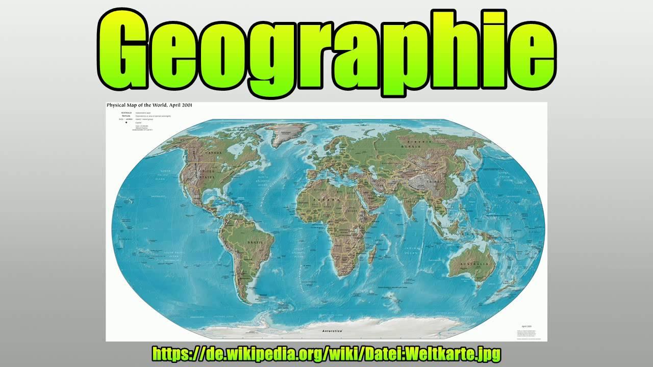 Geografie Oder Geographie