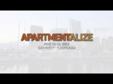 Apartmentalize, NAA's annual education conference. 2018 in San Diego