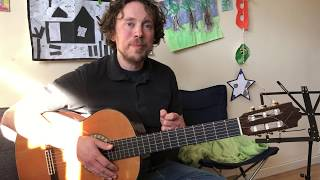 Guitar with Richard Carr - How to improvise Part 2