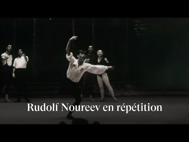 Rudolf Nureyev rehearsing The Sleeping Beauty (1961)