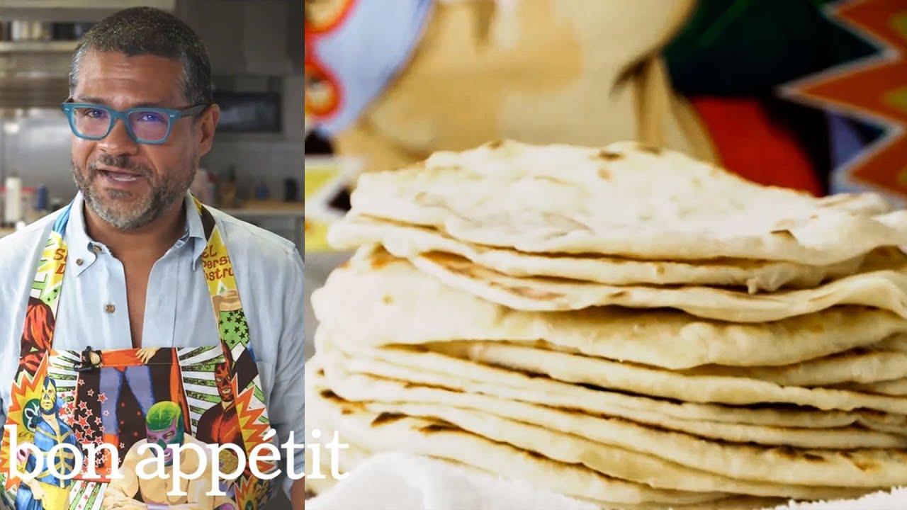 Rick Makes Bacon Fat Tortillas | Bon Appétit