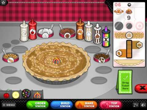 Играть в онлайн флеш игру Ресторан Папы Луи Кафе
