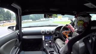 日光サーキット S15 シルビア ドリフト 車載 2015/6/16