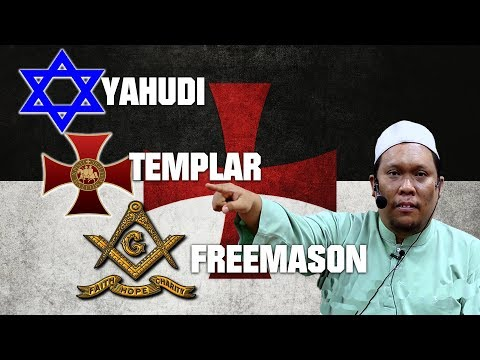 YAHUDI, TEMPLAR DAN FREEMASON - Ustaz Auni 2017