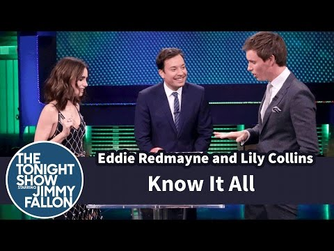 Know It All with Eddie Redmayne and Lily Collins
