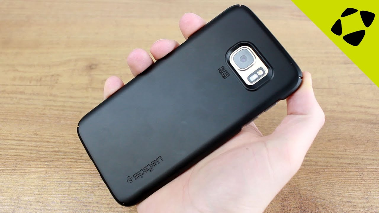 best service fb4d6 8d529 Spigen Thin Fit Samsung Galaxy S7 Edge Case Review - Hands On