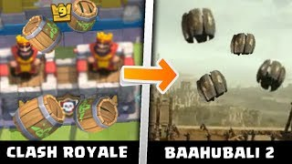 Top 10 Movie Scenes Similar to Clash Royale thumbnail