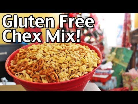 Homemade Gluten Free Chex Mix With Jill!