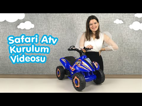 Safari Atv Easy Setup - UJ TOYS