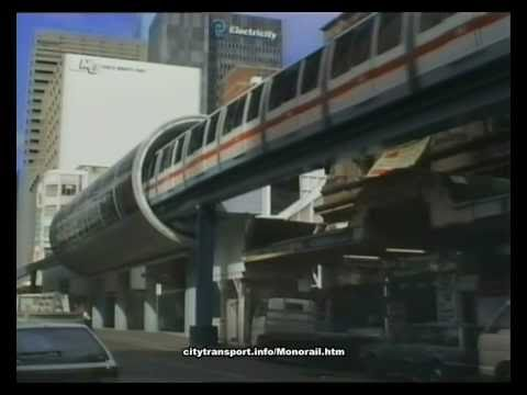 The Sydney Monorail in 1991