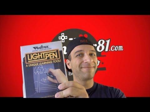 Rare Vectrex Light Pen Review - Gamester81