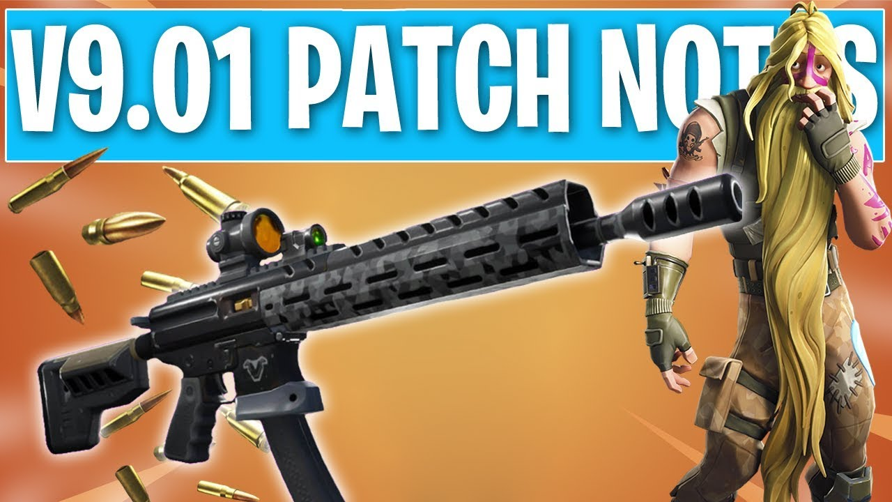 Fortnite v9.40 Update patch notes - Tactical Shotgun variants, weapon unvault, and more