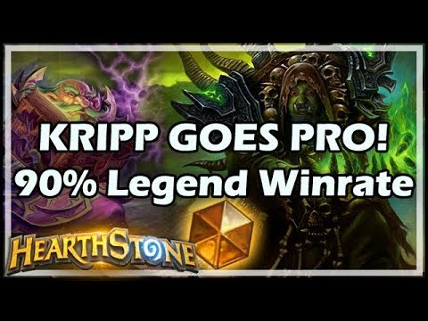 KRIPP GOES PRO! 90% Legend Winrate - Boomsday / Constructed / Hearthstone