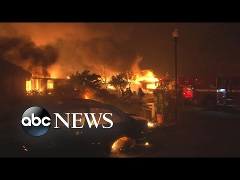 California Fires Leave Behind Apocalyptic-Like Destruction