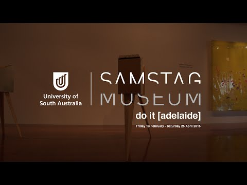 do it (adelaide) at Samstag Museum of Art