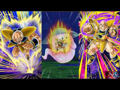 Dragon Ball Z Dokkan Battle Global Dokkan Awakening Violent Blast Nappa