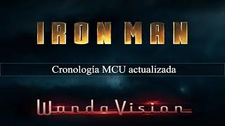 CRONOLOGIA MARVEL ACTUALIZADA WANDAVISION | Películas, Series y One-Shots con fechas exactas | v5