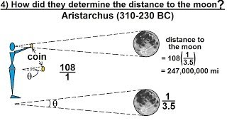 Astronomy - Measuring Distance, Size, and Luminosity (4 of 30) Distance to Our Moon