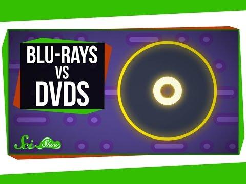 Почему на Blu-ray диски помещается больше данных, чем на DVD?