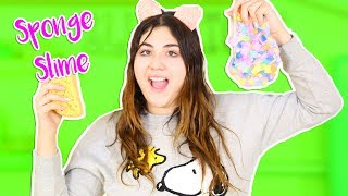 TESTING DIFFERENT SPONGES FOR SLIME   MAKING THE BEST JELLY CUBE SLIME   Slimeatory #250