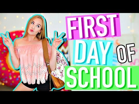 Get Ready With Me | First Day of School 2017 | Senior Year