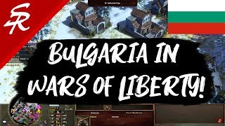 Bulgaria in Wars of Liberty!! Age of Empires III