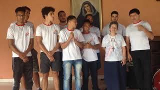 Visita do time de RUGBY (Belo Horizonte) na Comunidade Adorai.