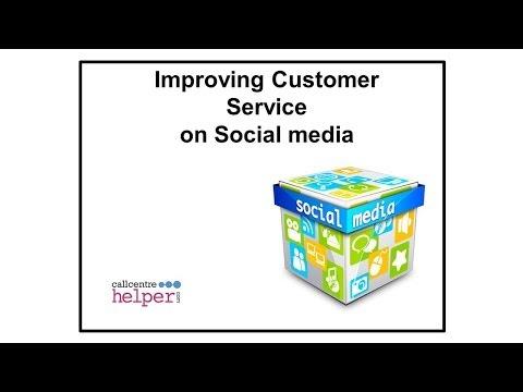 Webinar replay  Improving Customer Service on Social Media