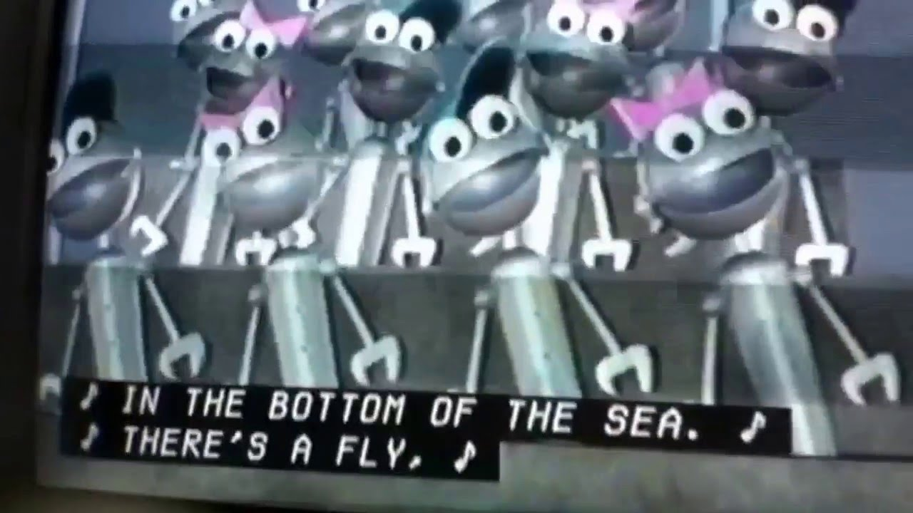 Hole in the bottom of the sea veggietales