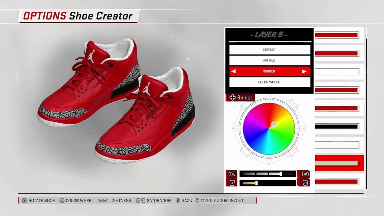 newest 76ae6 e6efe NBA 2K18 Shoe Creator - Air Jordan 3 PE