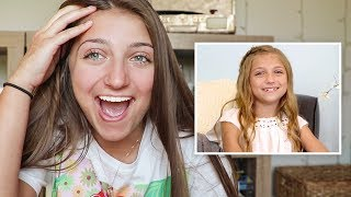reacting to my first videos!