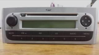 Recuperar Code Código Radio Cd Original Fiat Punto e Linea