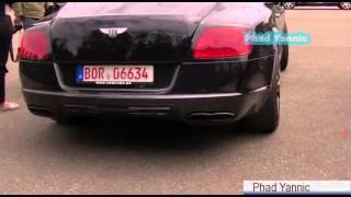 650HP МАНСОРИ на Bentley Continetal GT с двигателем V8: запуск, Откр., тоннель, звук выхлопа!