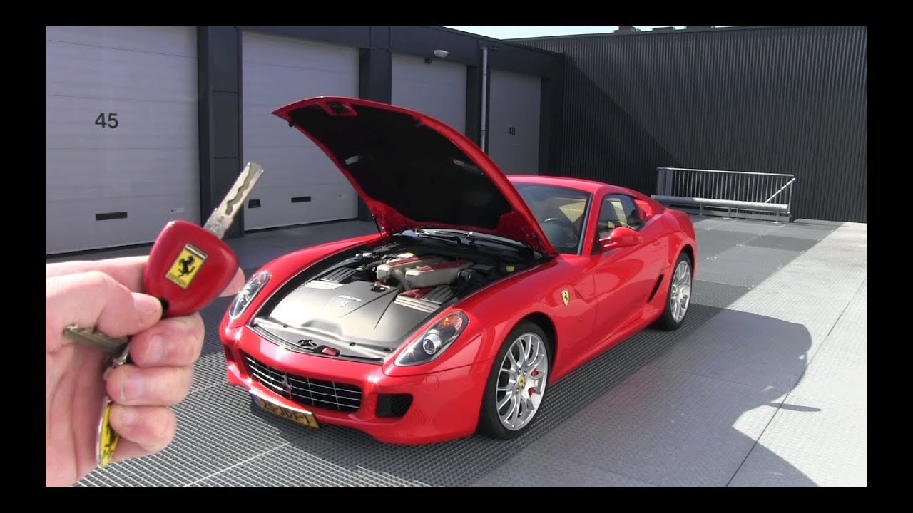 NEW CAR] Ferrari 599 GTB Fiorano Flat Out, tunnels, revving and more ...