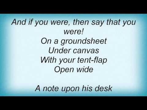 Morrissey - Alsatian Cousin Lyrics