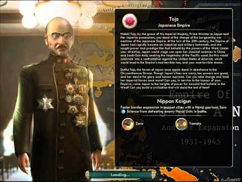 Empire of Japan - Tojo Hideki | War