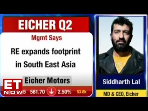 Siddhartha Lal of Eicher Motors speaks on Q2 results | Earnings with ET Now