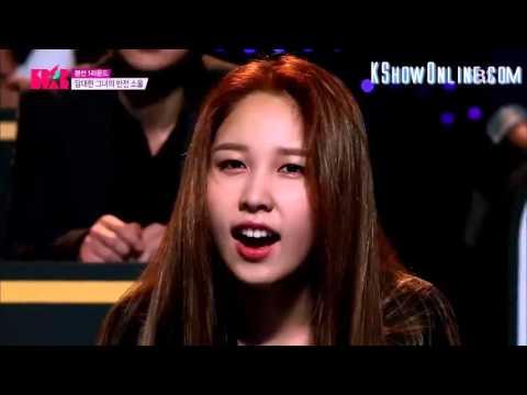 KPOP STAR - Lay me down - Lee Soo Jung