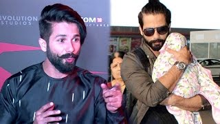 Shahid Kapoor Finally Reacts On Why He Hides His Baby Misha's Face From Reporters In Public