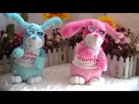 Stuffed Dancing Rabbit with Sing Music Plush Toy