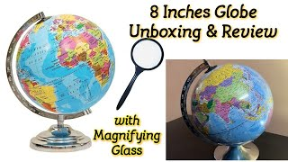 GeoKraft Political Educational Laminated 8 Inch Diameter Globe Unboxing amp Review