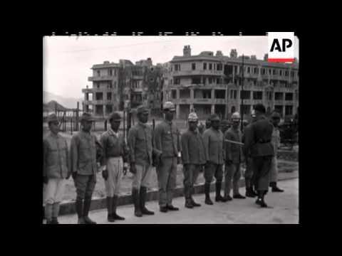 Identifying Japanese Criminals - NO SOUND - 1946