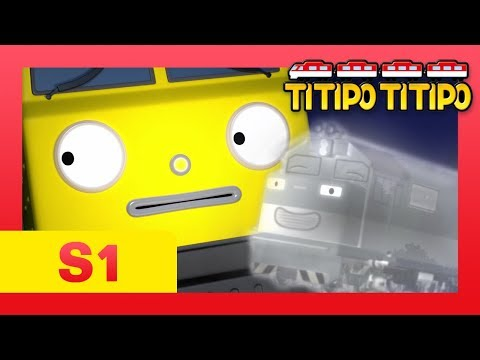 TITIPO S1 EP23 l A ghost train comes to Choo-choo town?! l TITIPO TITIPO