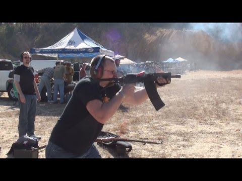 Machine Gun Shoot Piedmont Al Fall Of 2011 Youtube