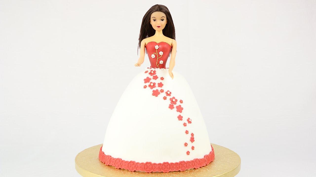 Tutoriel : Gâteau Robe De Princesse