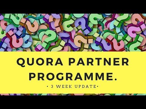 Quora Partner Program - 3 Week Update 👉💰🔥