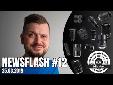 NEWSFLASH #12 - TAMRON WW Zoom - SONYs 135 GM, a7S III & BT Remote  - L-Mount Objektive uvm.