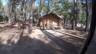 SAFARI TENTE Camping la simioune en provence