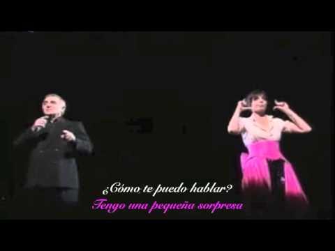 Mon Émouvant amour, Charles Aznavour, Liza Minelli Sub