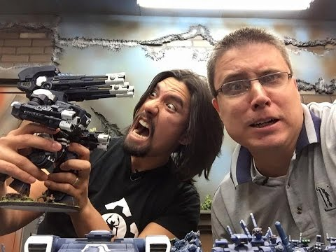 New Tau Supremacy Armour - Matt and Dave Tau Reviews Ep 2